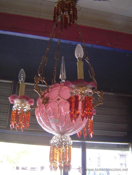 lámpara veneciana,murano siglo xix - Comprar Lámparas Antiguas en ...