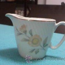 Antigüedades: PRECIOSA LECHERA DE PORCELANA DE VIGO SANTA CLARA.. Lote 36434142