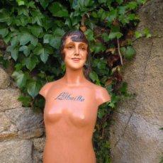 Antigüedades: ANTIGUO MANIQUI FRANCÉS AÑOS 20 ART DECÓ MARCA L'ABEILLE. Lote 36441390