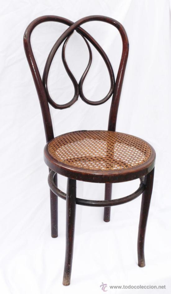 Silla antigua madera curvada thonet o khon si comprar - Tapizado de sillas antiguas ...