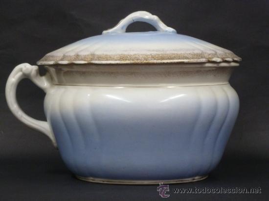 ORINAL CON TAPA, ROYAL IRONSTONE CHINA, JOHNSON BROS (Antigüedades - Porcelanas y Cerámicas - Inglesa, Bristol y Otros)