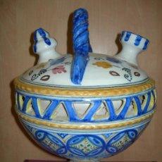 Antigüedades: PUENTE DEL ARZOBISPO. BOTIJO DE GRAN TAMAÑO.. Lote 36470687