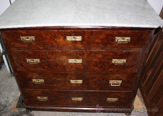 COMODA DE RAIZ (Antigüedades - Muebles - Cómodas Antiguas)