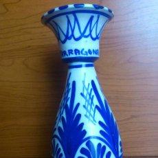 Antigüedades: JARRON DE CREAMICA CATALANA CON TAPA ( TARRAGONA ). Lote 36499442