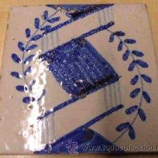 Antigüedades: BALDOSA - REJOLA - CATALANA 1800. Lote 36545311
