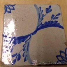 Antigüedades: BALDOSA - REJOLA - CATALANA 1800. Lote 36545414