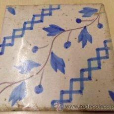 Antigüedades: BALDOSA - REJOLA - CATALANA 1800. Lote 205132902