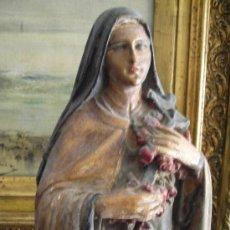 Antigüedades: FIGURA DE SANTA TERESITA DEL NIÑO JESUS (ANTIGUA ). Lote 36498280