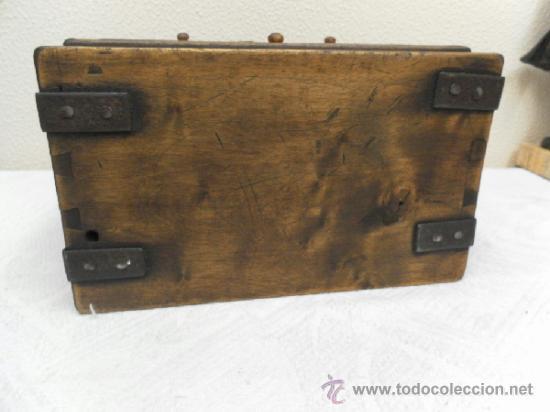 Antigüedades: Pequeña arquilla. Siglos XVII / XVIII. - Foto 7 - 36502256
