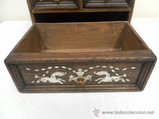 Antigüedades: Pequeña arquilla. Siglos XVII / XVIII. - Foto 8 - 36502256