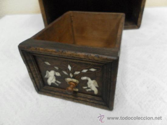 Antigüedades: Pequeña arquilla. Siglos XVII / XVIII. - Foto 13 - 36502256