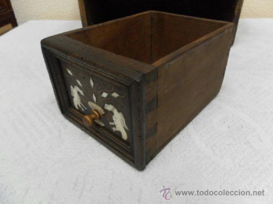 Antigüedades: Pequeña arquilla. Siglos XVII / XVIII. - Foto 17 - 36502256