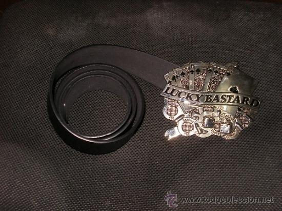 Antigüedades: Cinturon motero, muy curioso, de coleccion - Foto 3 - 36501943