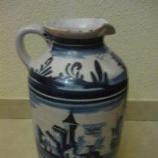 Antigüedades: JARRA CATALANA, HACIA 1900. Lote 36526883