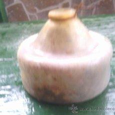 Antigüedades: ANTIGUA ATRAPAMOSCAS EN CRISTAL. Lote 36530855