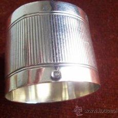 Antigüedades - Servilletero de plata - 36559095