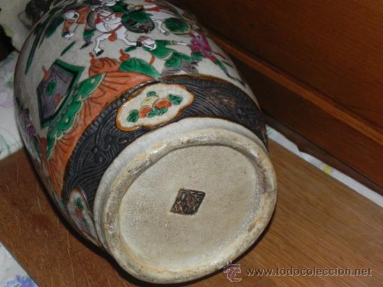 Antigüedades: ANTIGUO JARRON SATSUMA - Foto 5 - 36540707