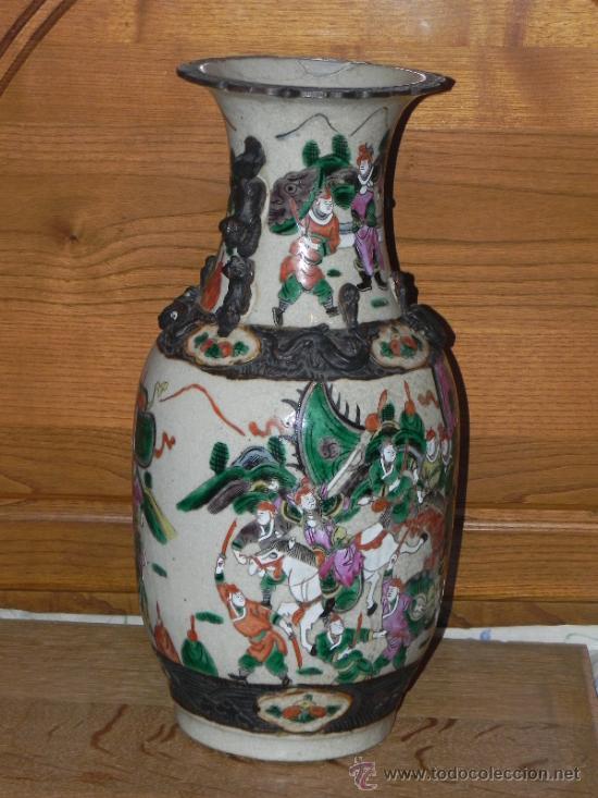Antigüedades: ANTIGUO JARRON SATSUMA - Foto 2 - 36540707