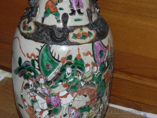 Antigüedades: ANTIGUO JARRON SATSUMA - Foto 4 - 36540707