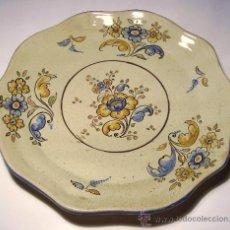 Antigüedades: PLATO DE TALAVERA. NIVEIRO.. Lote 36559486