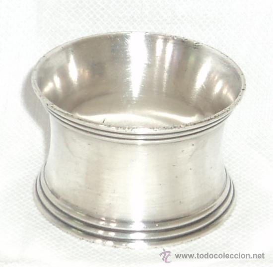 ANTIGUO SERVILLETERO CHRISTOFLE (Antigüedades - Plateria - Varios)