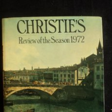 Antigüedades: CHRISTIE'S REVIEW OF THE SEASON 1972 ED. JOHN HERBERRT. 440 PAG. Lote 36572095