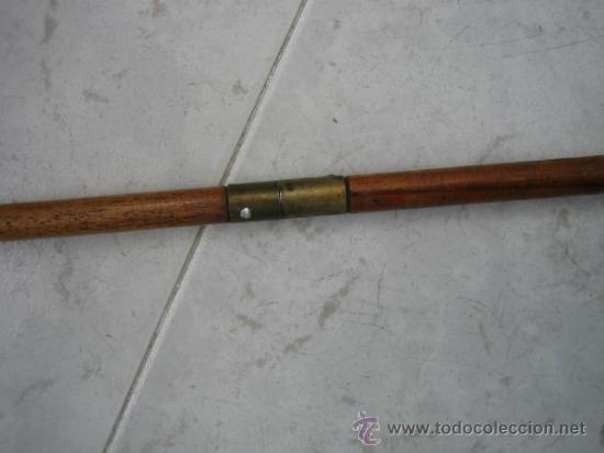 Antigüedades: Baqueta antigua para escopeta de caza.Medidas 55x1´2 cm - Foto 4 - 36573672