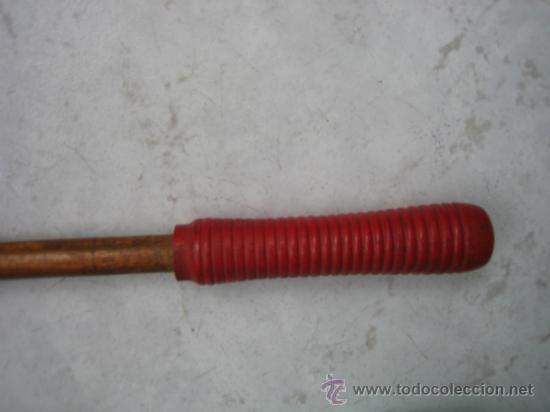 Antigüedades: Baqueta antigua para escopeta de caza.Medidas 55x1´2 cm - Foto 5 - 36573672