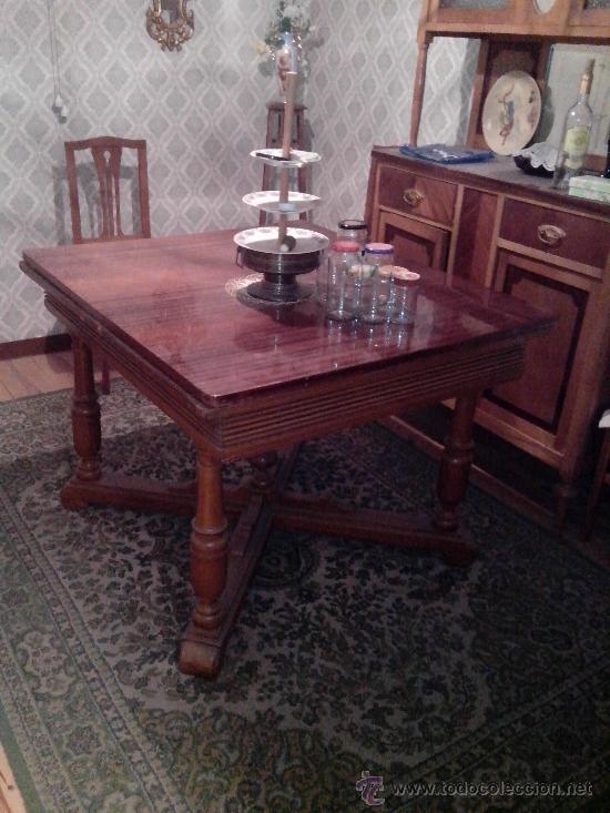 conjunto mobiliario comedor sala de visitas - Comprar Mesas Antiguas ...