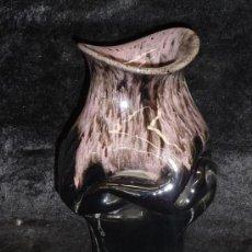 Antigüedades: BONITO JARRON EN CERAMICA VIDRIADA. Lote 36579852