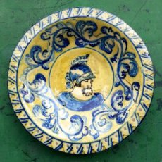 Antigüedades: PLATO CERAMICA. Lote 36598989