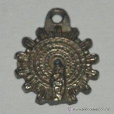 Antigüedades: MEDALLA RELIGIOSA. VIRGEN. 20 MM DIAMETRO. MITAD S. XX.. Lote 36601786