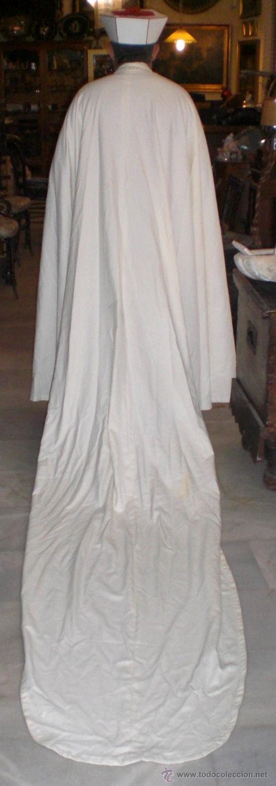 Antigüedades: Manto Capitular + escapulario + birrete - ORDEN DE LA MERCED - Sastrería Medrano - Foto 4 - 36608494