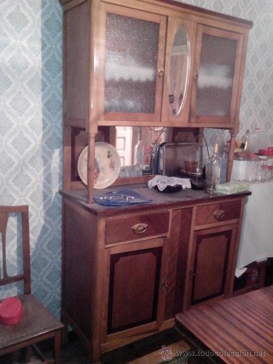 antiguo armario / alacena / aparador / vitrina - Comprar Armarios ...