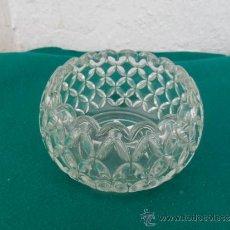Antigüedades: CUENCO DE CRISTAL. Lote 36633612