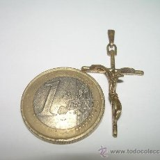 Antigüedades: ANTIGUA CRUZ METALICA,. Lote 36633881