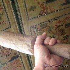 Antigüedades: ANTIGUA MAZA PARA GOLPEAR EL LINO ORIGINAL DE LA ZONA NOROESTE DE ZAMORA - MAZAR EL LINO - ETNOGRAF. Lote 36634494