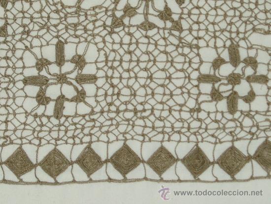 Antigüedades: ENCAJE DE RED, FINALES DE SIGLO XIX - Foto 3 - 36637148