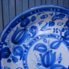 Antigüedades: ANTIGUO PLATO TALAVERA. SIGLO XIX. . . Lote 36645972