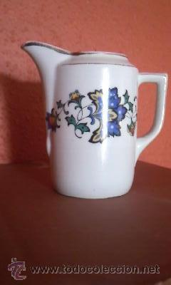 PRECIOSA LECHERA DE PORCELANA B C BAVARIA. AÑOS 50 (Antigüedades - Porcelana y Cerámica - Alemana - Meissen)