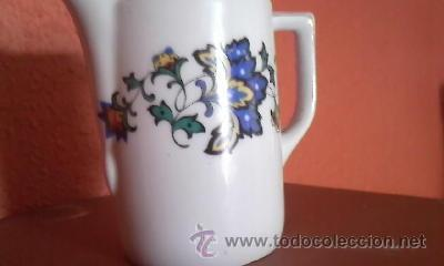 Antigüedades: Preciosa lechera de porcelana B C BAVARIA. Años 50 - Foto 2 - 36647475