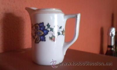 Antigüedades: Preciosa lechera de porcelana B C BAVARIA. Años 50 - Foto 3 - 36647475
