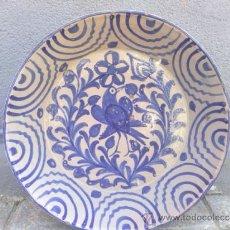 Antigüedades: ANTIGUA FUENTE DE FAJALAUZA, PINTADA A MANO. Lote 36648796