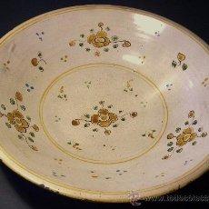 Antigüedades: CUENCO CERAMICA DE TALAVERA . Lote 36651065