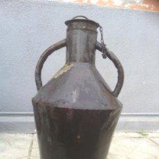 Antigüedades: ANTIGUA CANTARO O ACEITERA METALICA.. Lote 36659188