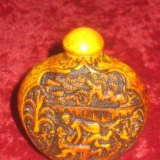 Antigüedades: ESENCIERO...PERFUMERO.. OVALADO, MUY LABRADO CON ESCENAS EROTICAS . Lote 37052756