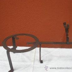 Antigüedades - TREBEDE DE HIERRO FORJADO - 36662127