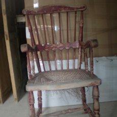 Antigüedades: SILLON PARA RESTAURAR DE HAYA. Lote 36691363
