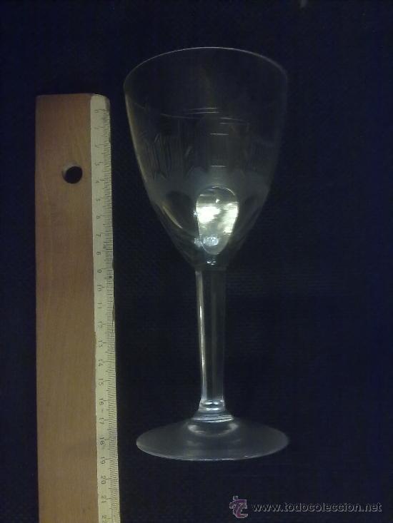 PRECIOSA COPA DE LA GRANJA. DIÁMETRO DE LA COPA UNOS 8 CM. (Antigüedades - Cristal y Vidrio - La Granja)