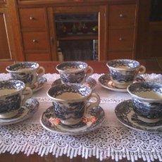 Antigüedades: ANTIGUO JUEGO DE CAFE , SELLADO LA CARTUJA. Lote 36696733